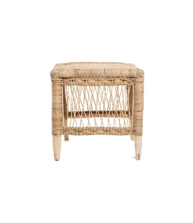 Malawi stool - natural