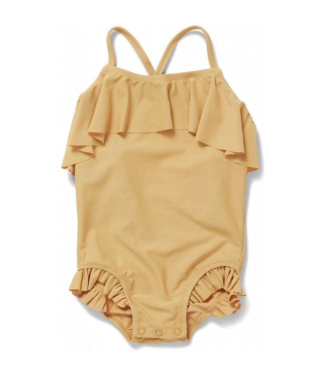 Konges Sløjd Manuca swimsuit - orange sorbet