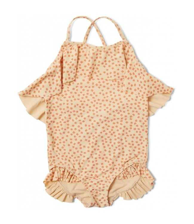 Konges Sløjd Manuca swimsuit - buttercup orange