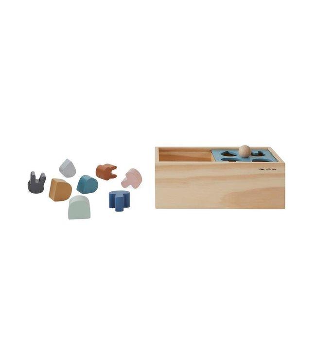 OYOY MINI Wooden puzzle box