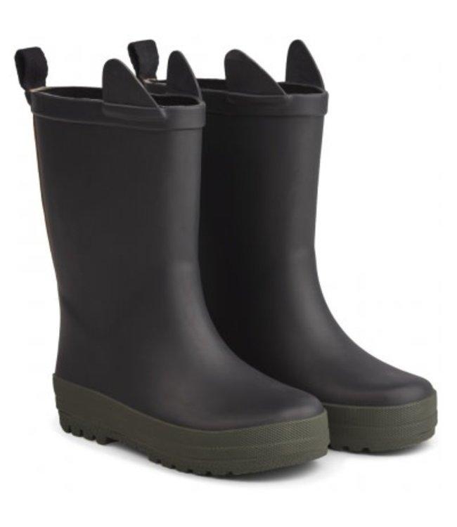 River rain boot - black/hunter mix