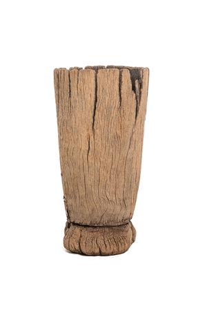 Old wooden mortar Peul #13