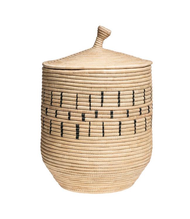 Morocco basket - light pattern