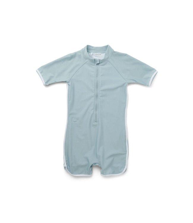 Liewood Triton swim jumpsuit - sea blue