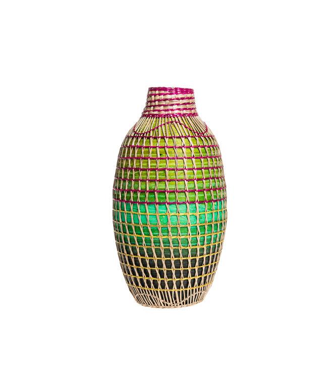 Vase multicolor S