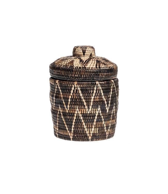 Bolyo basket with lid