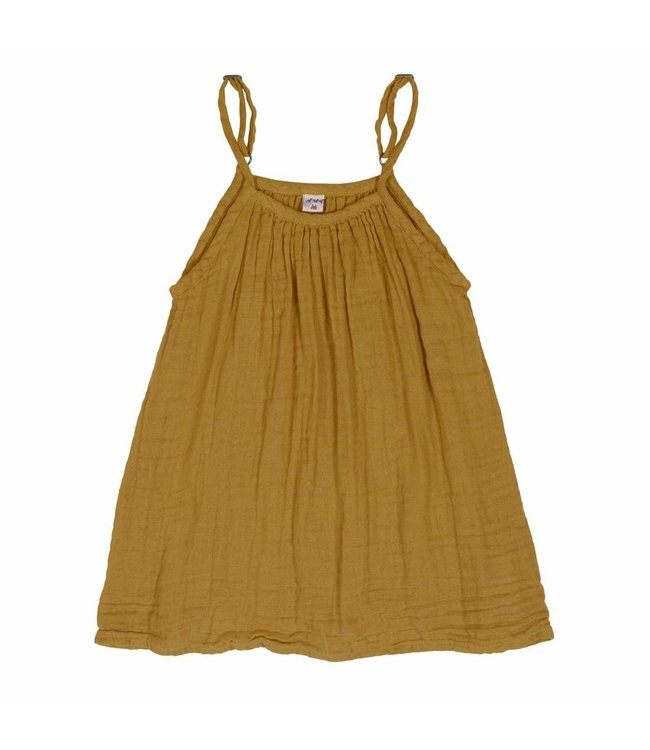 Numero 74 Mia jurk - gold