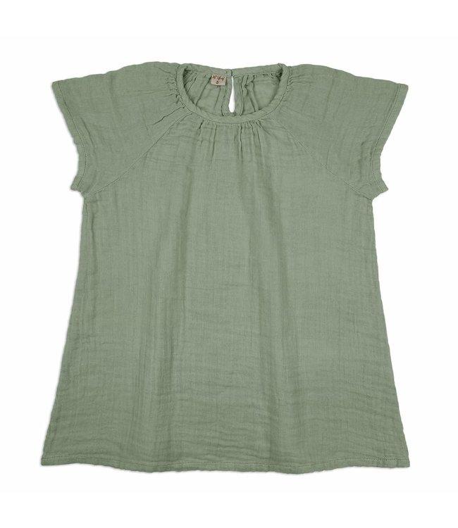 Numero 74 Clara jurk - sage green
