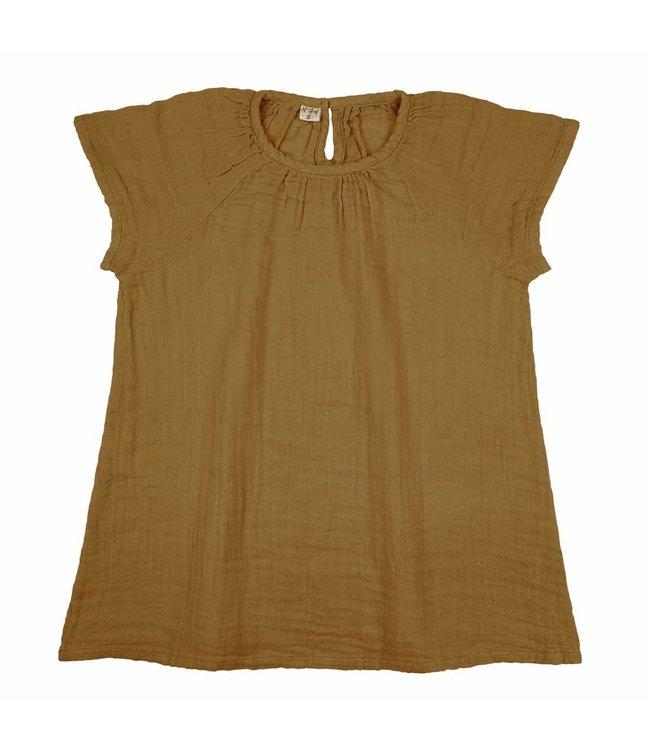 Numero 74 Clara dress - gold