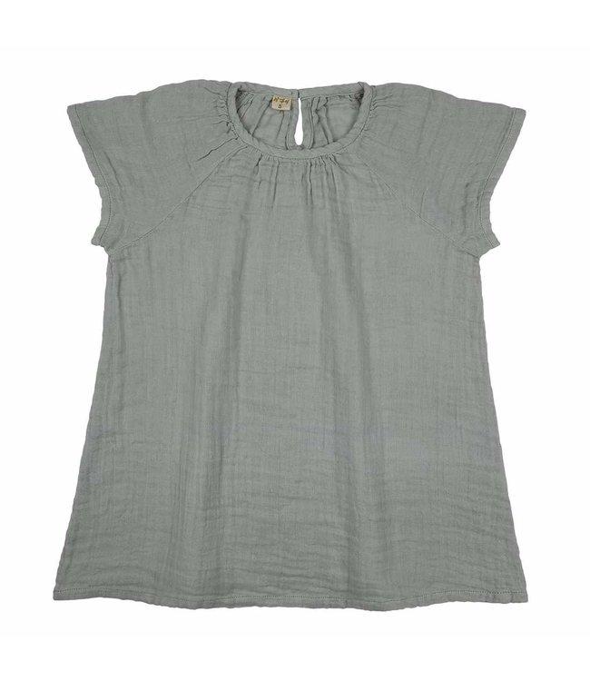 Numero 74 Clara jurk - silver grey