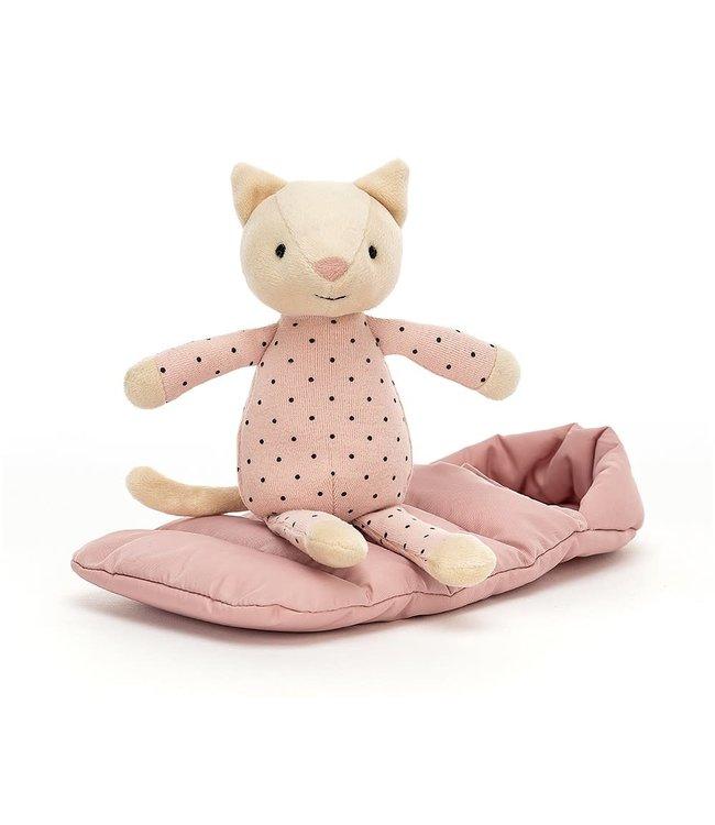 Jellycat Limited Snuggler cat
