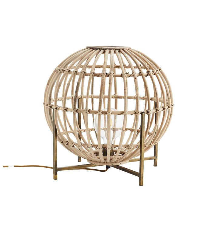 Bamboe tafellamp