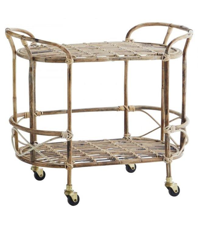 Bamboe trolley