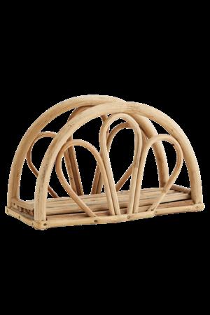 Bamboe servettenhouder