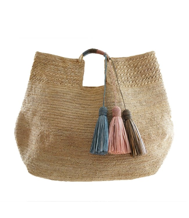 Made in Mada Lucienne tas - natural