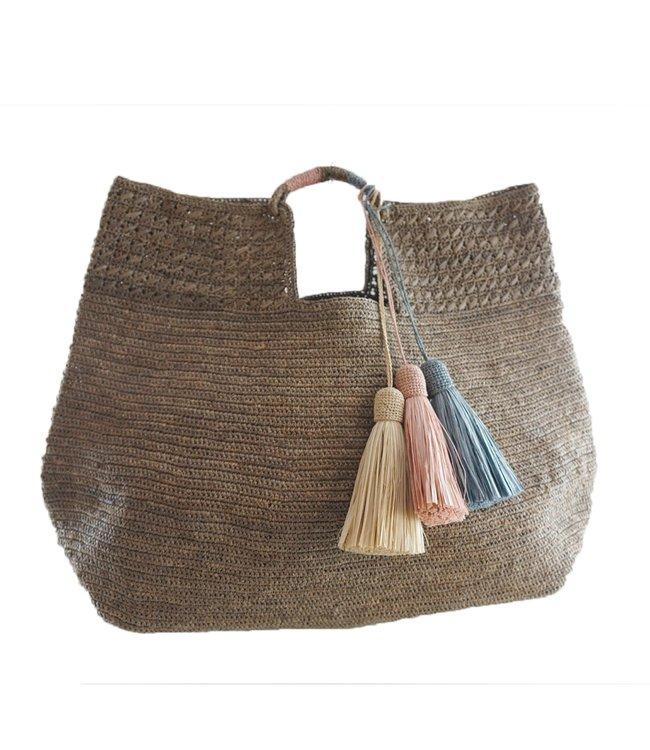Made in Mada Lucienne bag - tea