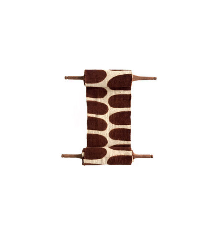 AAAA Bogolan totem - flexibility - white/brown