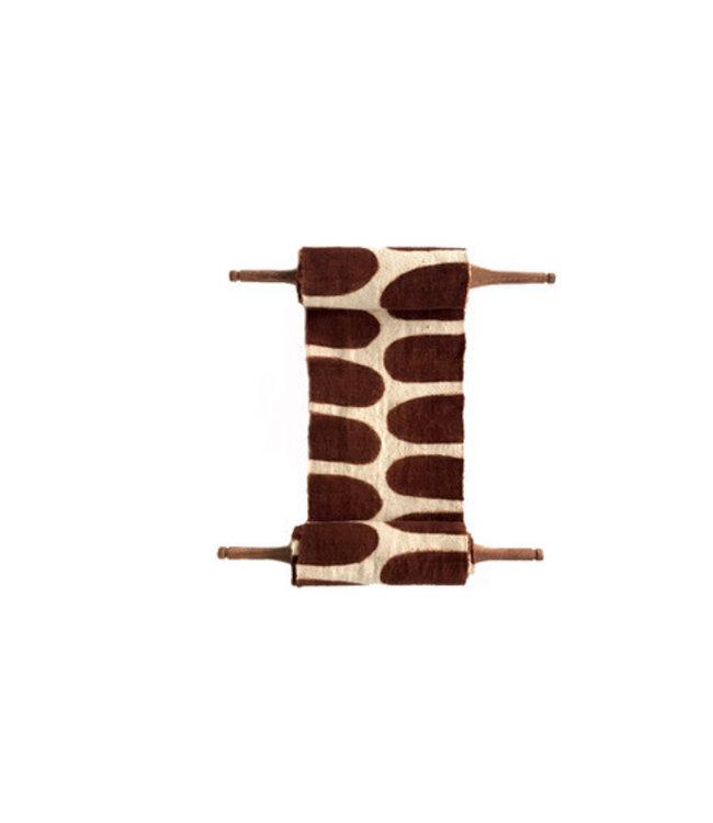 AAAA Bogolan totem - flexibility - wit/bruin