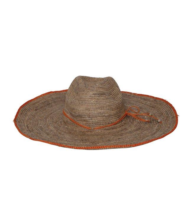 Made in Mada Aziz hat - orange