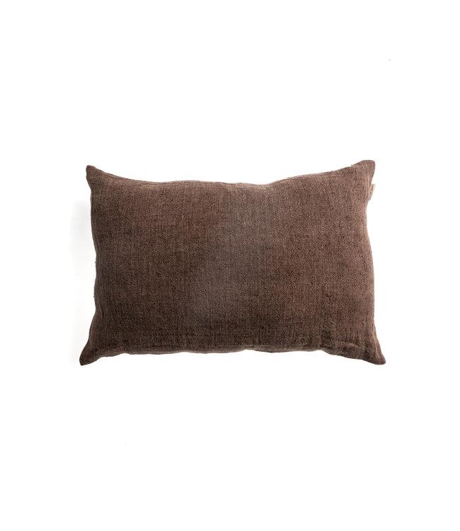 Margaux cushion - cinnamon