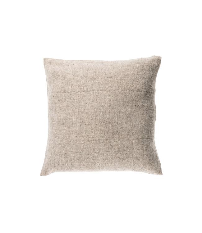 Teixidors Cushion sisteron - grey off-white edge