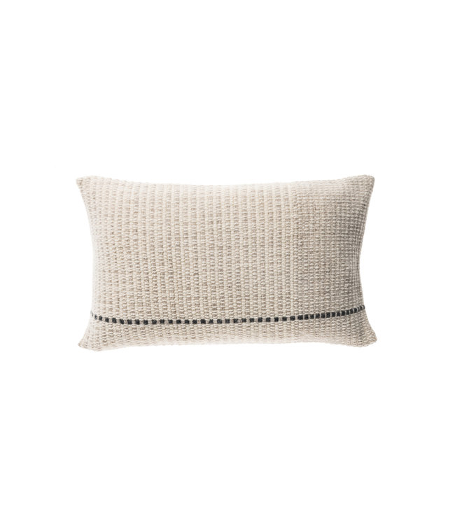 Teixidors Cushion temps - off-white light grey
