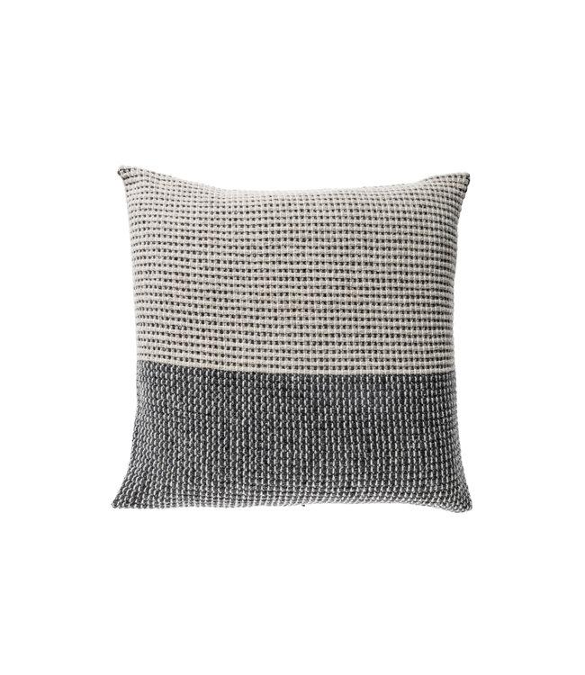 Teixidors Cushion time - grey dark grey