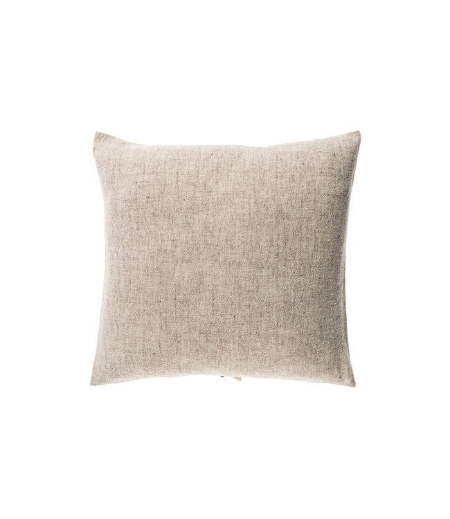 Teixidors Cushion sisteron - grey black edge