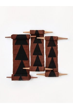 AAAA Bogolan totem - intention - brown/black