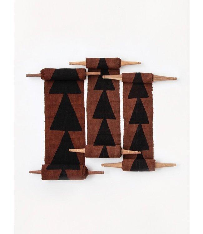 AAAA Bogolan totem - intention - bruin/zwart