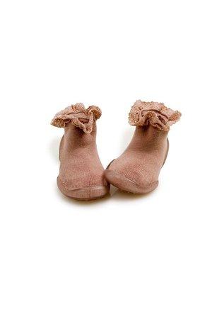 Collégien Pantoffels - mademoiselle rose