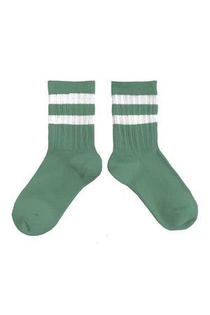 Collégien Nico - socks sport stripe - céladon