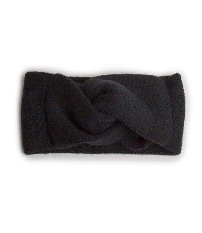 Collégien Headband - noir de charbon