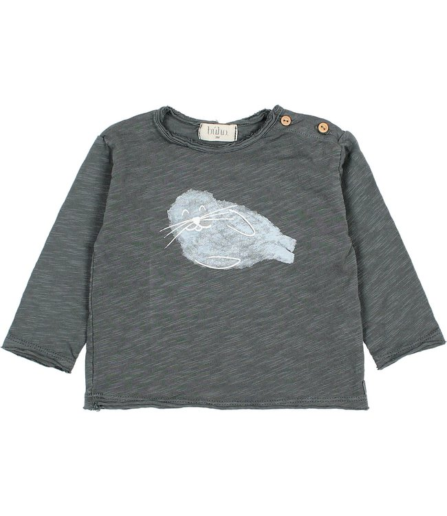 Buho Seal t-shirt - antracite