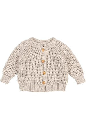 Buho Soft knit cardigan - natural