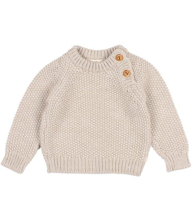 Rice knit jumper - natural