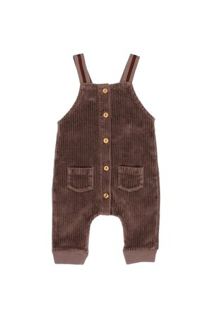 Buho Knit velour jumpsuit - taupe