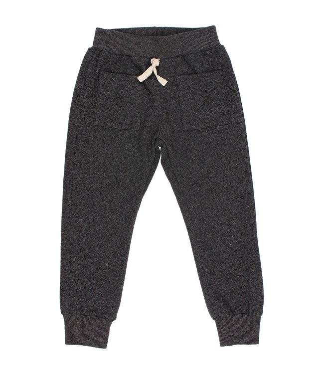 Soft jersey pants - antracite