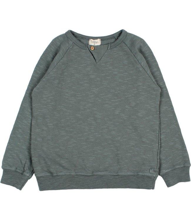 Buho Flamé sweatshirt - north sea