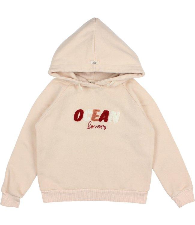 Ocean sweatshirt - rose