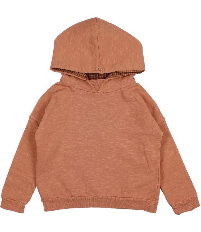 Buho Plain hoodie sweatshirt - hazel