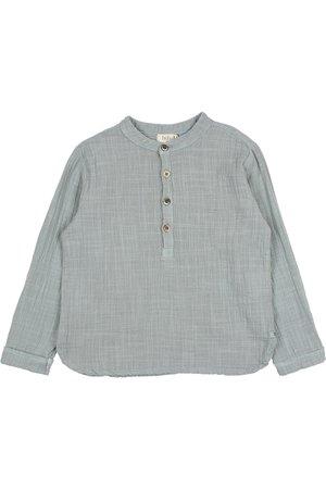 Buho Gauze shirt - storm grey