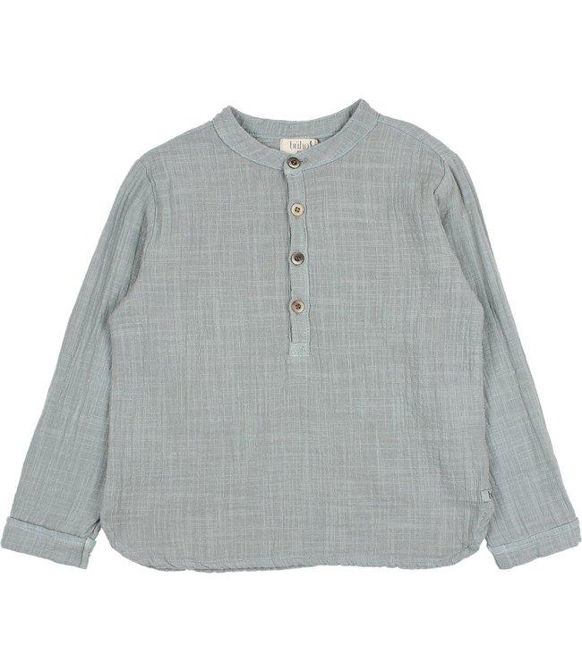 Gauze shirt - storm grey