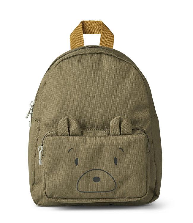 Liewood Allan backpack - mr bear khaki