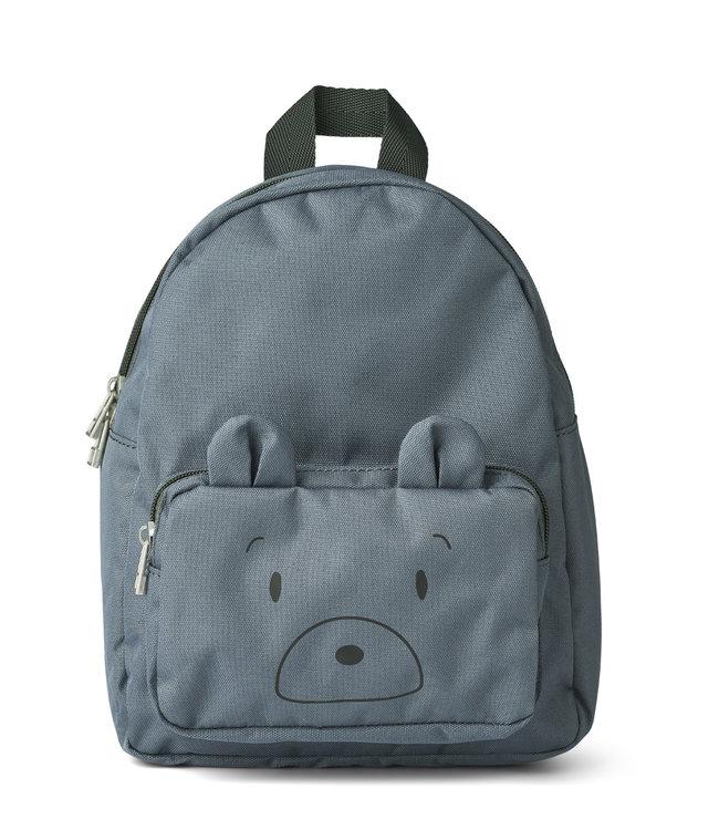 Allan backpack - mr bear whale blue