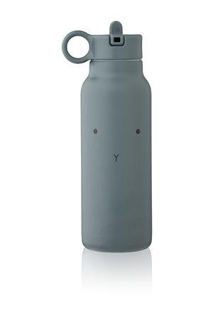Liewood Falk water bottle - rabbit whale blue
