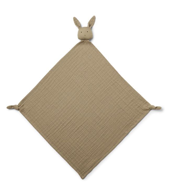 Liewood Robbie multi muslin cloth - rabbit oat
