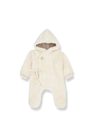 1+inthefamily Chantal polar suit - ecru