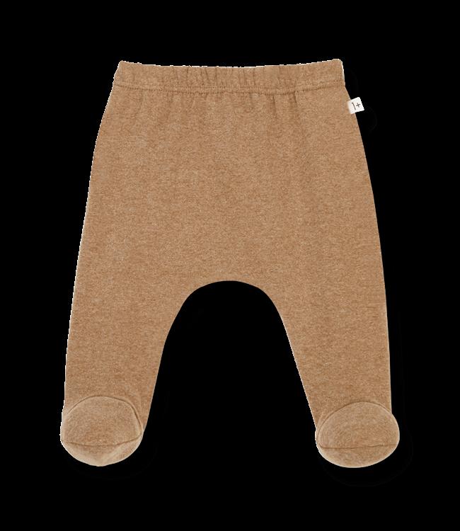1+inthefamily Rim leggings w/feet - brandy