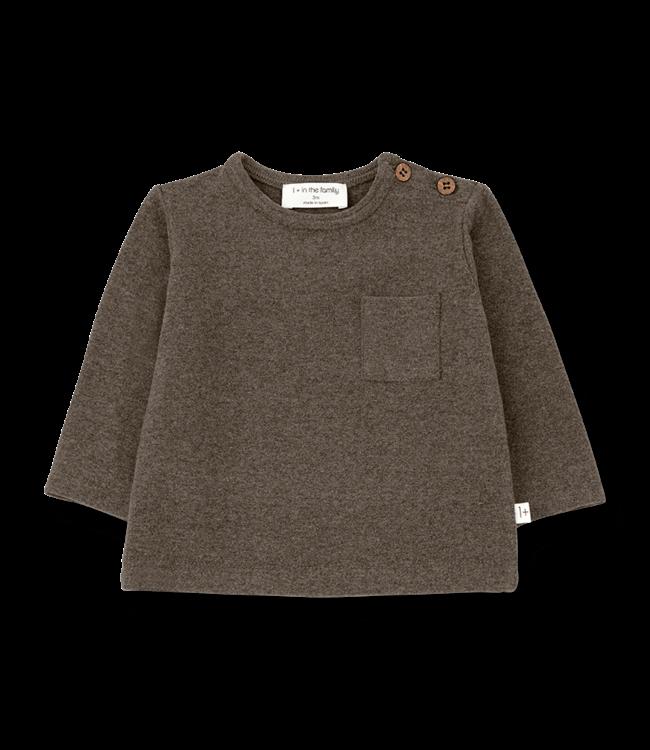 1+inthefamily Oriol t-shirt - terrau